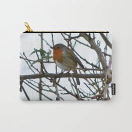 The Solitary Robin Carry-All Pouch