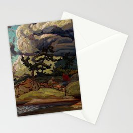 The Elements by James Edward Hervey MacDonald - Canada, Canadian Oil Painting - Group of Seven Stationery Cards