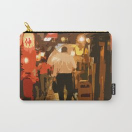 Salaryman Wanders Home Through Shinjuku,Tokyo Carry-All Pouch