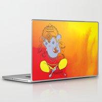 ganesh Laptop & iPad Skins featuring Ganesh  by xDiNKix