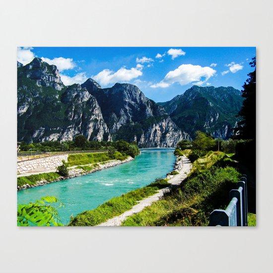 A River Runs Through It II Canvas Print