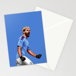 Sergio Kun Aguero Stationery Cards