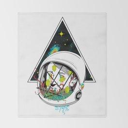 Space Gummies Throw Blanket