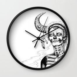 Indian Shaman Wall Clock