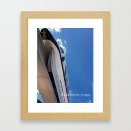 Monorail at Epcot Framed Art Print