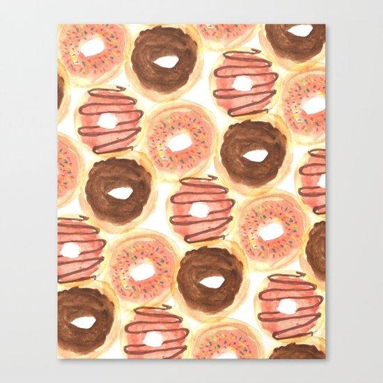 Mmm, Donuts. Canvas Print