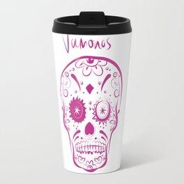Sugar Skull Vamonos Mexicana Travel Mug