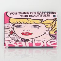 barbie iPad Cases featuring Barbie by LuxuryLivingNYC