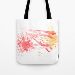 Orange and Yellow Tote Bag