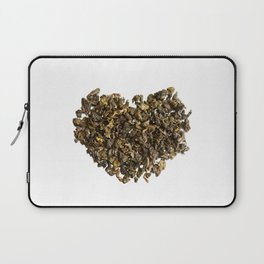 Dried and curled leaves of Oolong Laptop Sleeve