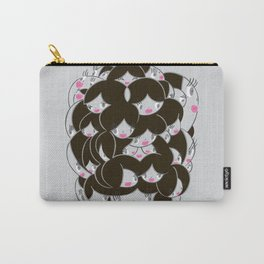 Girlie Heads! Carry-All Pouch