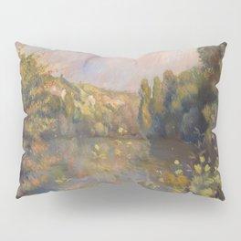 Lakeside Landscape by Renoir Pillow Sham