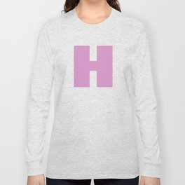 The Letter H Long Sleeve T-shirt