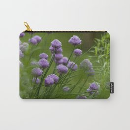 Herb Garden Chives Tarragon Parsley Carry-All Pouch
