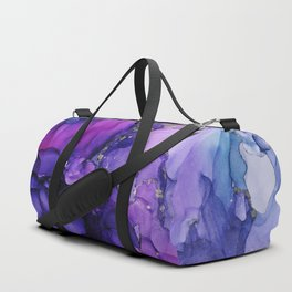 Violet Magenta Chrome - Abstract Ink Duffle Bag