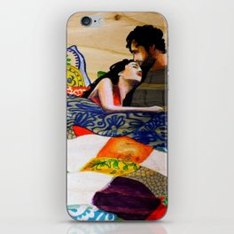 Vibrant love  iPhone Skin