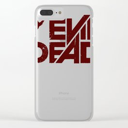 Evil Dead 2013 Clear iPhone Case