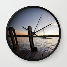 Cottage Feelings. Wall Clock