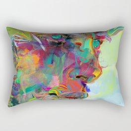 Iris Drops Rectangular Pillow