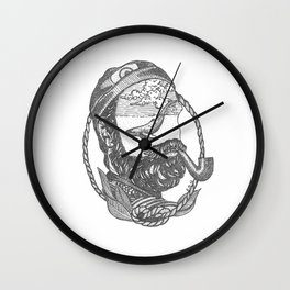 THE SEA IN MY HEAD Wall Clock