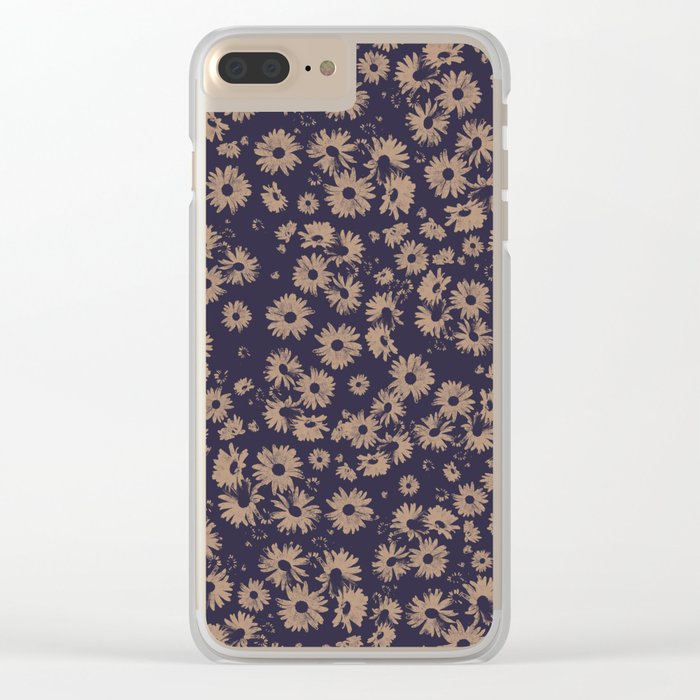 Flowers at Dawn II Clear iPhone Case