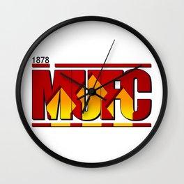 MUFC Wall Clock