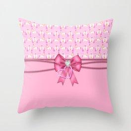 Enchanted Princess Carriage Throw Pillow