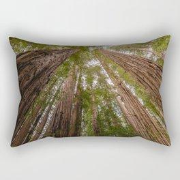 Forest Sky Adventure - 86/365 Nature Photography Rectangular Pillow