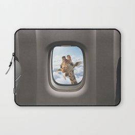 Funny Giraffe - Window Seat  Laptop Sleeve