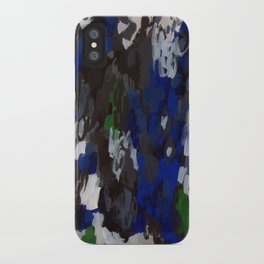 No. 69 Modern Abstract Painting iPhone Case
