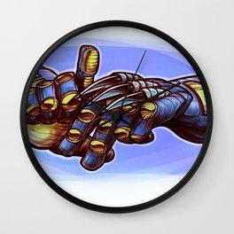 LA Claw Man Wall Clock