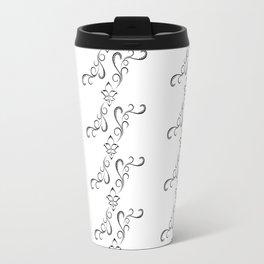 White Orient Travel Mug