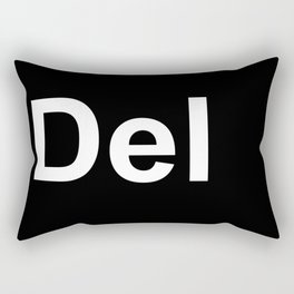 Del Rectangular Pillow
