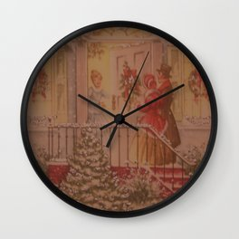 Have A Merry Christmas Wall Clock