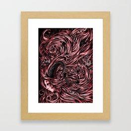 Pretty Evil Framed Art Print