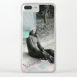 Rainbows Clear iPhone Case