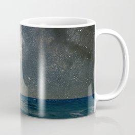 Milky Way Over The Sea Coffee Mug