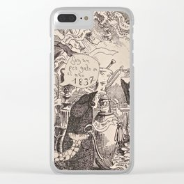 1837 Clear iPhone Case