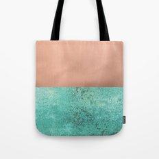 NEW EMOTIONS - ROSE & TEAL Tote Bag