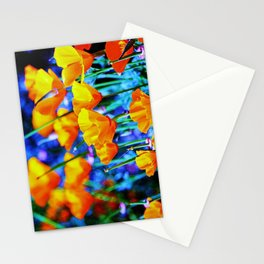 The Poppy Field. © J. Montague. Stationery Cards