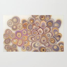 Spotted Geodes Rug