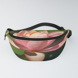 Soft Pink Waterlily Fanny Pack
