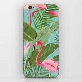 Flamingo Jungle iPhone Skin