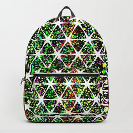 Star Pattern Colorful Backpack