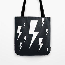 Lightning bolts Tote Bag