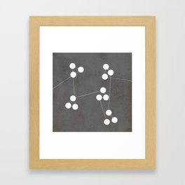Numbers | 04 Framed Art Print