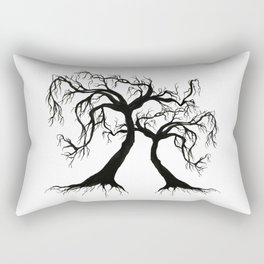 Twisted Trees  Rectangular Pillow