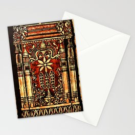 Bohemian Carvings Stationery Cards