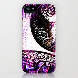 Purple Opposition iPhone Case