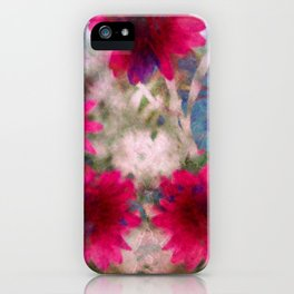 flowers abstract iPhone Case